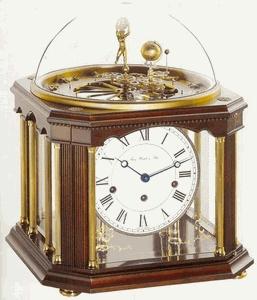 Tellurium III Anniversary Clock by Hermle