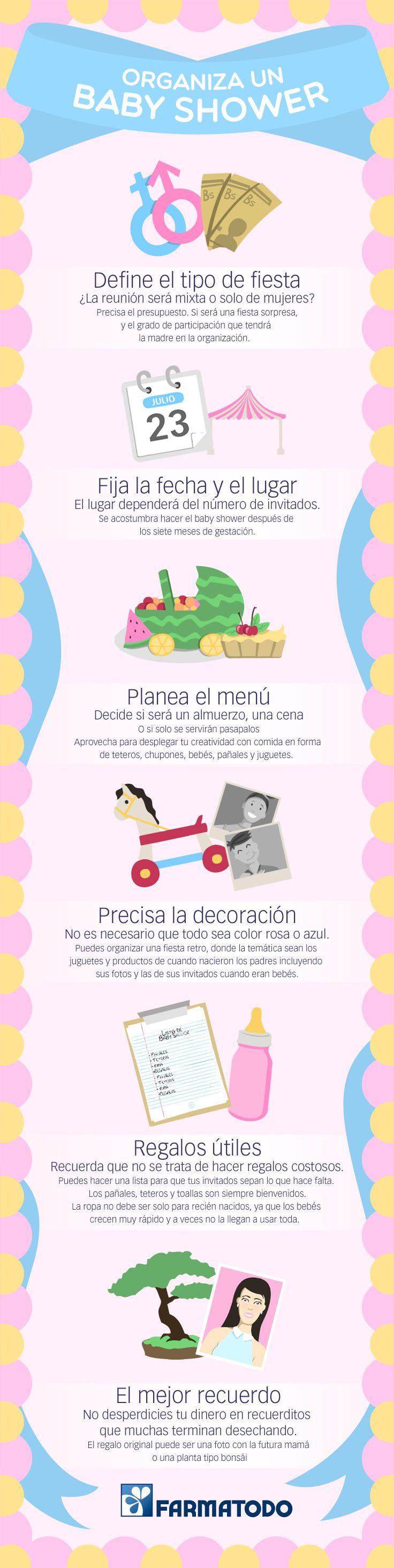 Tips para planificar el Baby Shower #bebe #niños