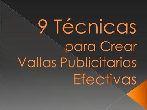 9 Técnicas para Crear Vallas Publicitarias Efectivas. Recuerda que en Venezuela, nuestra empresa Grupo FLX, C.A. es líder en el área de la publicidad exterior y fabrica e instala vallas en todo el país; visítanos y conoce más sobre nuestros productos y servicios aquí: http://grupoflx.com/vallas-publicitarias-cajas-de-luz-publicidad-exterior #vallas #publicitarias #diseño #grafico #publicidad #exterior #caracas #venezuela
