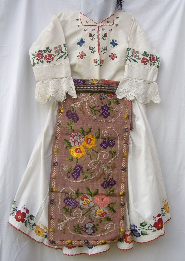 romanian costume ... Banat