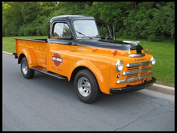 1949 Dodge Pilothouse Pickup 3/4 Ton, 4-Speed. Pinned by http://FlanaganMotors.com.