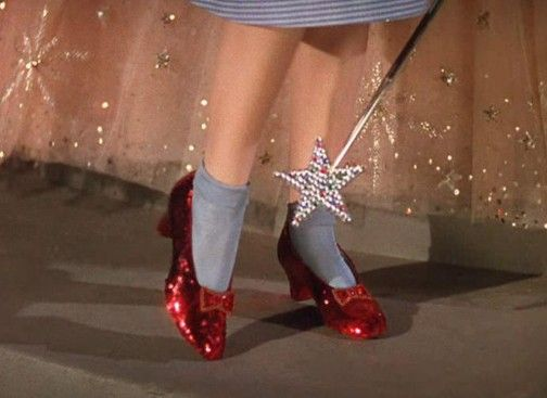Ruby Red Shoes!