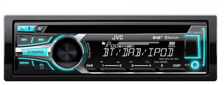 JVC KD-DB95BTE Bluetooth Autoradio mit DAB+ von JVC im Autoradio Shop von Autoradioland unter http://www.autoradioland.de/de/jvc-kd-db95bte-bluetooth-autoradio-dab.html