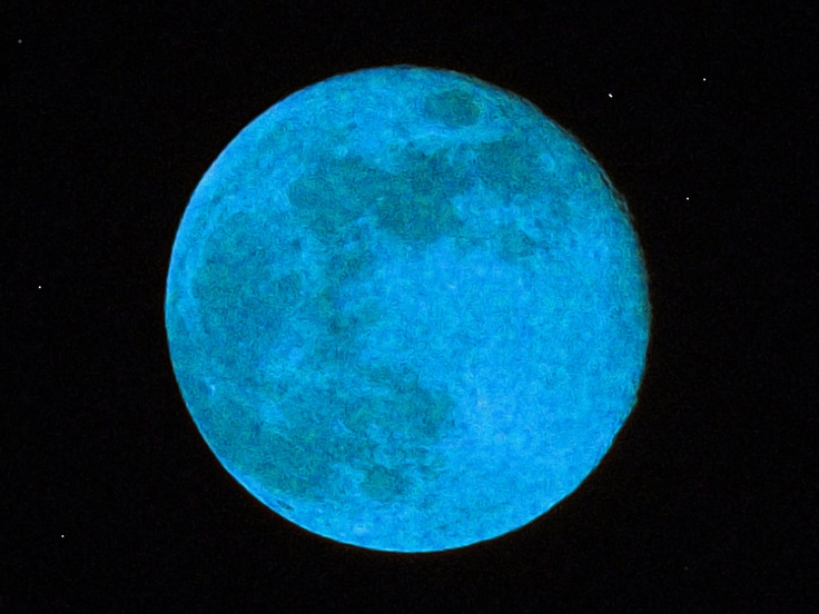 """500px / Photo """"My blue Moon"""" by Javier Aguilar"""