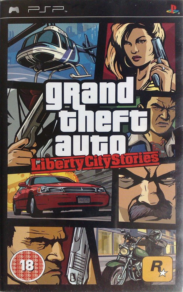 Grand Theft Auto (GTA) Liberty City Stories xbox   Game