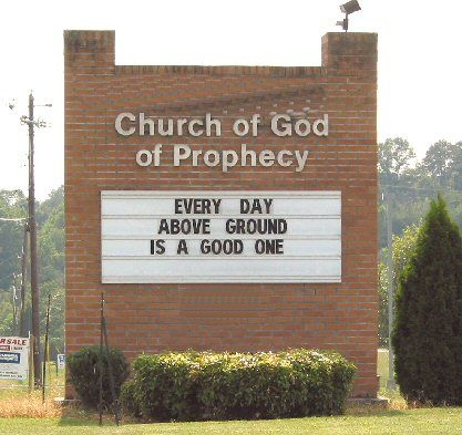 Witty Church Signs   Funny Church Signs: God accepts collect Calls   Obscure Internet