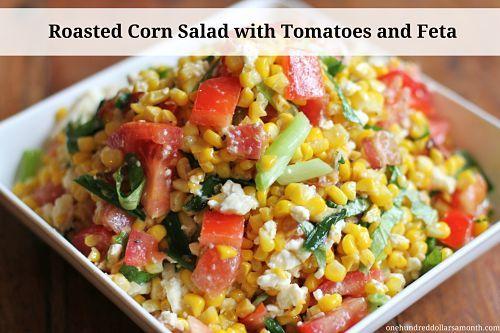 Corn On The Cob With Mint-Feta Butter Recipe — Dishmaps