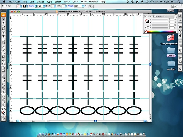 How to make crochet diagrams