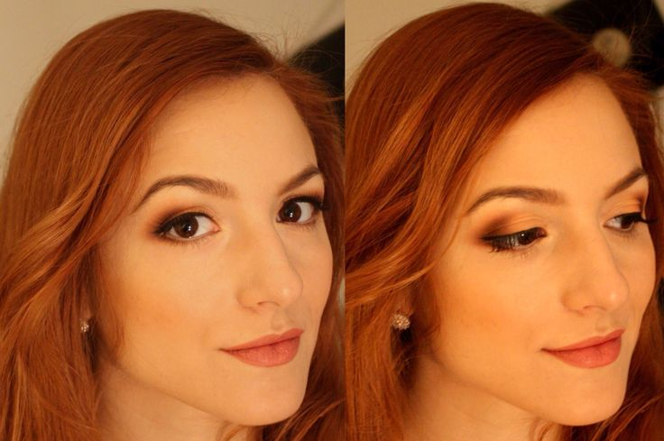 Natural look for this angelic face. I m in love with this girl, i choose soft and warm eyeshadows & nude lips