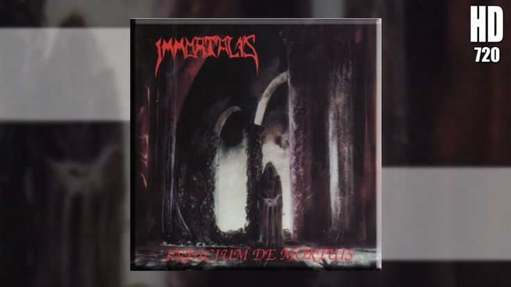 IMMORTALIS - Indicium de Mortuis ◾ (album 1991, German death metal)