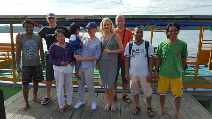 The client from lithuania just finished the tour in tanjung puting national park with us..