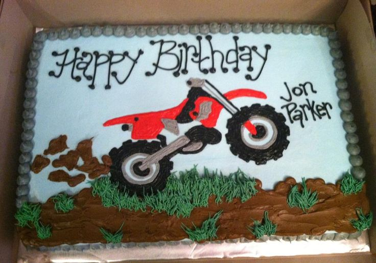 motocross cakes | dirt bike birthday cake