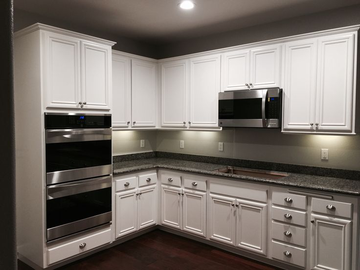 Our new white cabinets