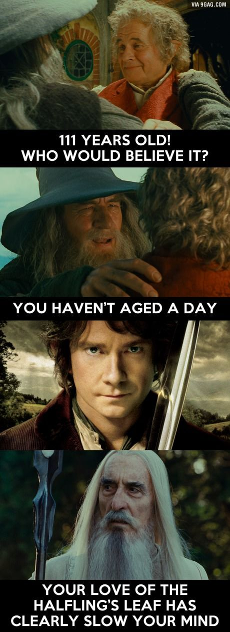 You haven't aged a day
