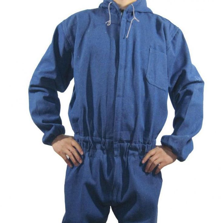 Working Safety Clothing Mens Coveralls For Repair Dustproof Cowboy Cotton Work Clothes Jumpsuit Long Sleeve High Quality M-3xl