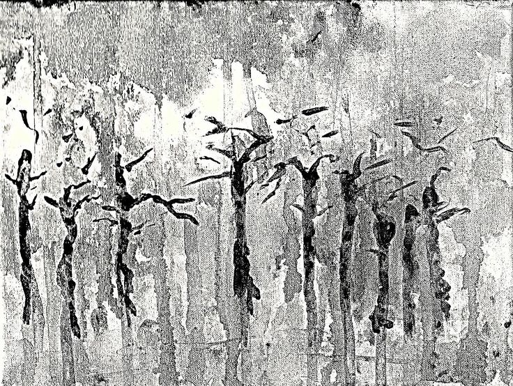 Jacek Sikora ( #Siccora ) BLACK RAIN, 2012, Acrylic on canvas, 21 x 30 cm #art #contemporary #fineart #canvas #abstract #abstractart #abstractpainting #abstraction #painting #contemporaryart #deep #design #loveart #visualartist #modern #buyart #abstract #impression