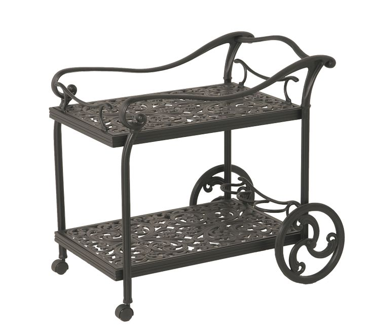 Whether using as an extra end table, serving piece, or gardening station, this tea cart would be a great addition to any outdoor space!