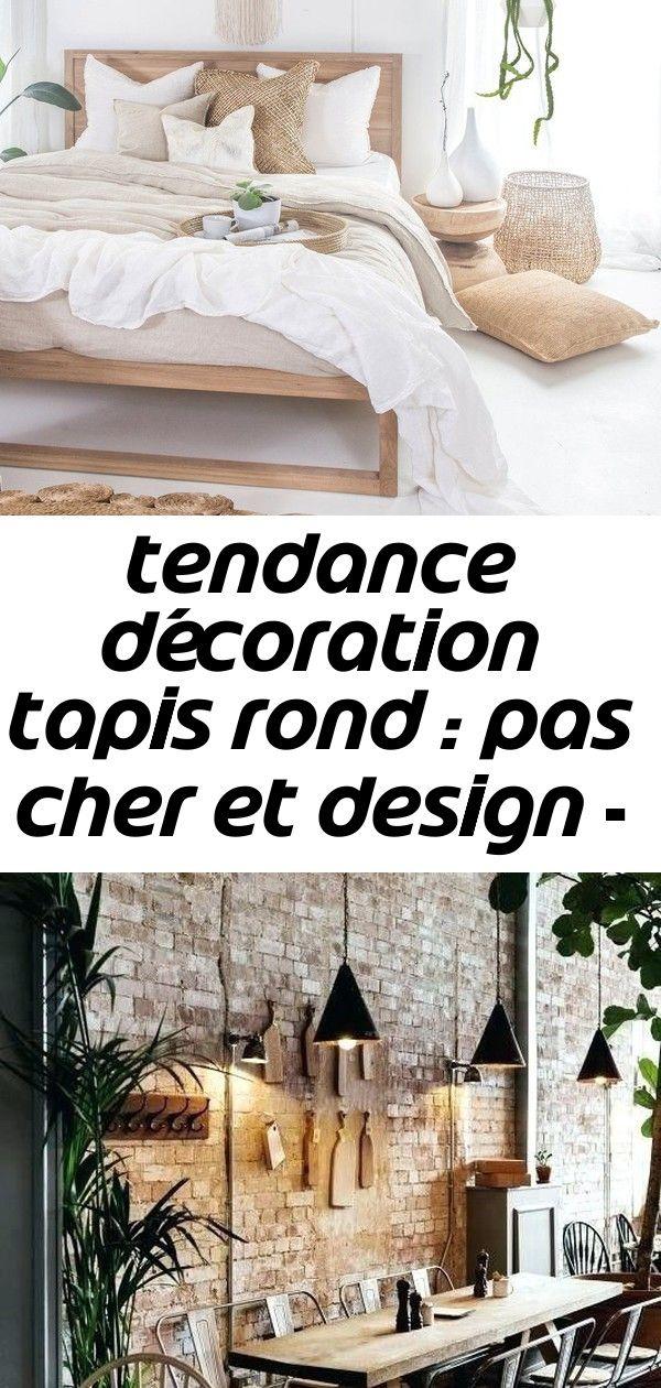 Tapis Rond Chambre Osier Tressé Blanc Blog Déco Clem