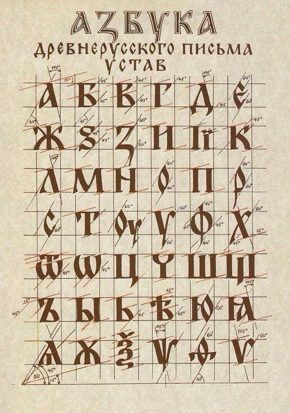 Русский шрифт