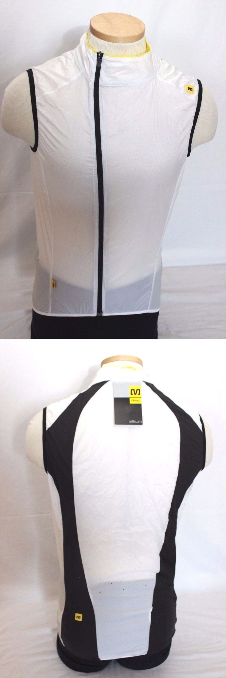 Vests 177856: New Mavic Men S Helium Cycling Vest Small White Bike Lightweight Vest Sleeveless -> BUY IT NOW ONLY: $30 on eBay!