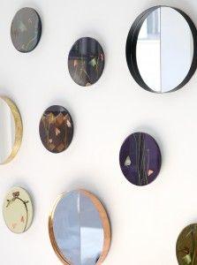 VINO mirrors by Iina Vuorivirta and Butterfly photos by Sandra Kantanen | Lokal Helsinki