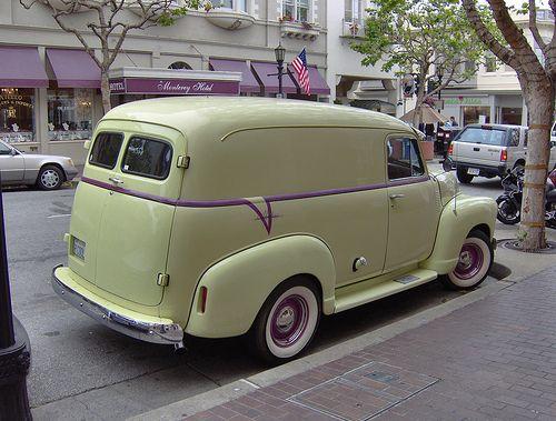 1952/3 Chevy Panel Truck. | Monterey California 09. | Flickr