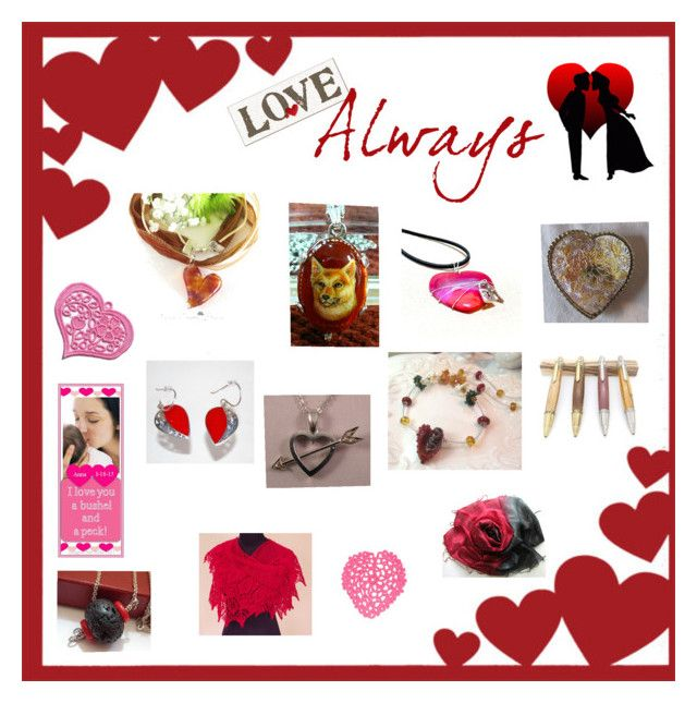 Show Your Love! by glassdreamshawaii on Polyvore featuring art
