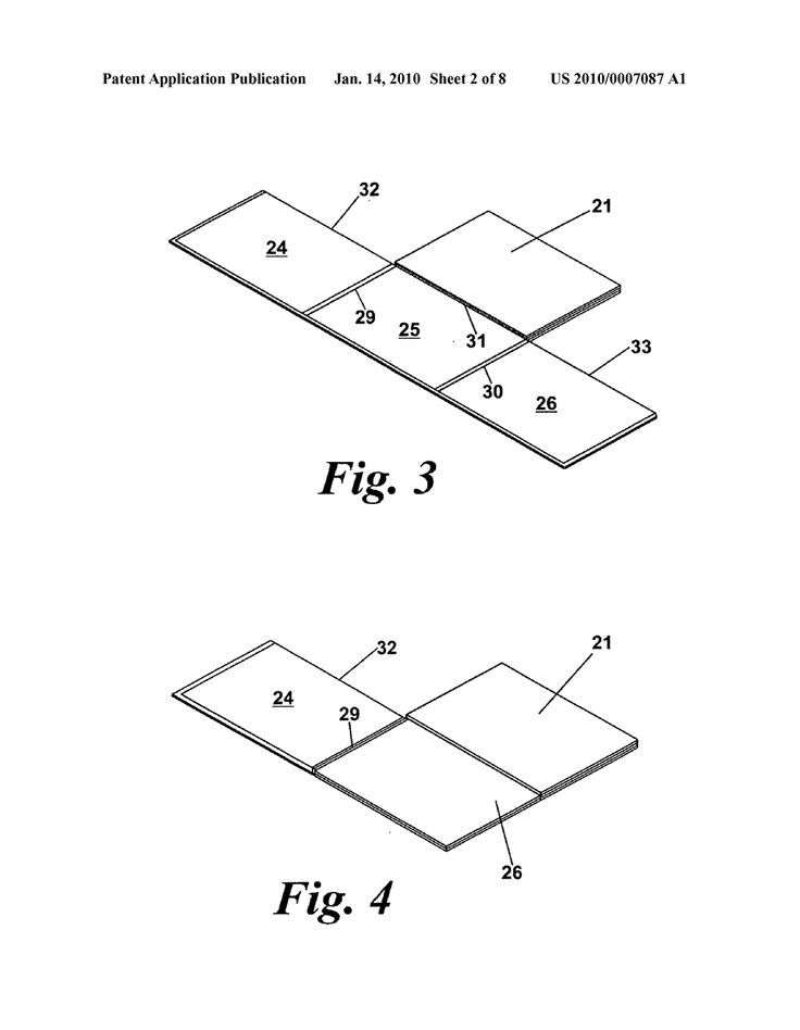 Six fold game board and method of folding game board - diagram, schematic, and image 03