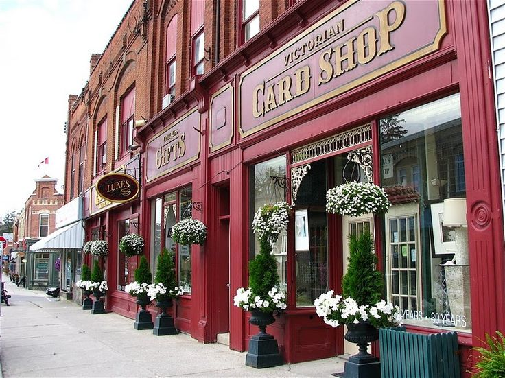 Port Perry's charming downtown shops: Luke's Country Store