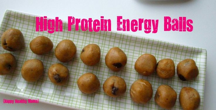 High Protein Energy Balls--I made these this weekend.  Should have made a double batch as they are already gone! These are Meghan's favorite snack.