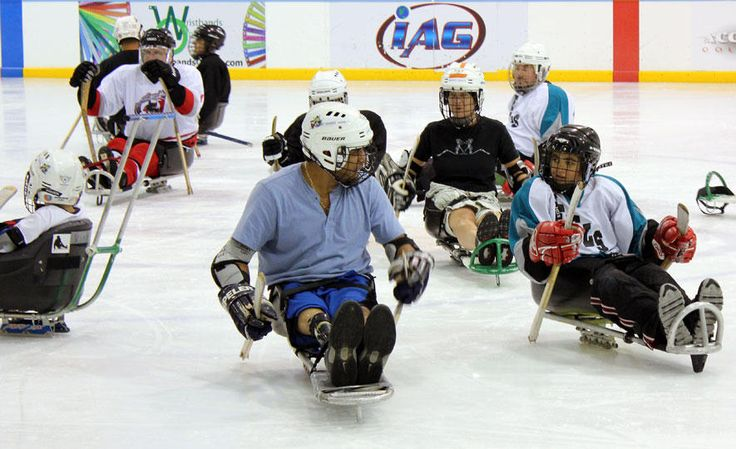 Sled Hockey Makes Winter an 'Ice' Time for Adaptive Sports - http://blog.amsvans.com/sled-hockey-makes-winter-an-ice-time-for-adaptive-sports/
