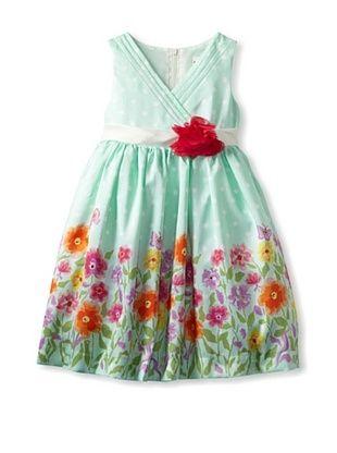 66% OFF Nannette Girl's 2-6x Flower Dress (Green)