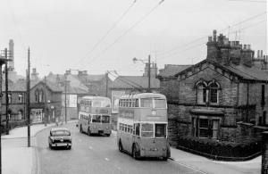 My childhood...watching the fab trolley buses in Bradford