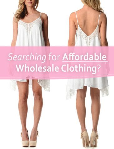 clothing for wholesale