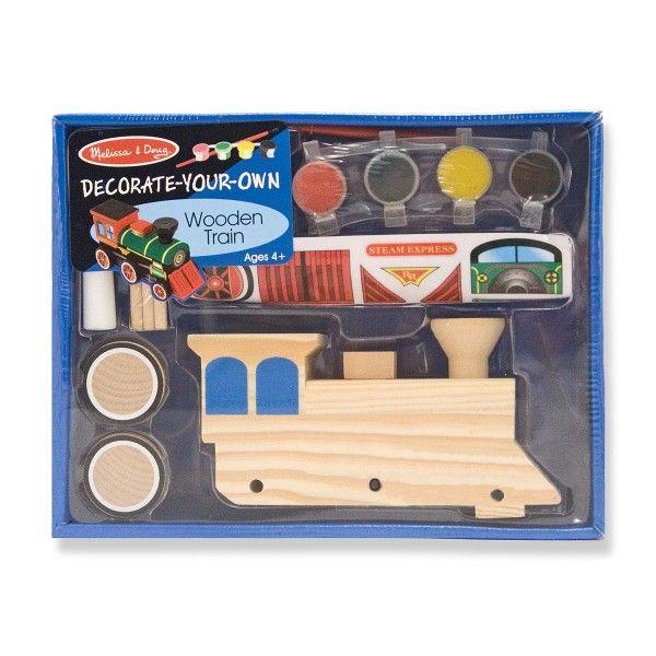 Dřevěný vlak – postav si sám - 3TL s.r.o.  #Dragonello