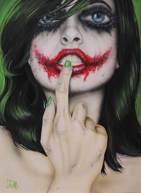 arte+Scott Rohlfs+joker+chácomcupcakes