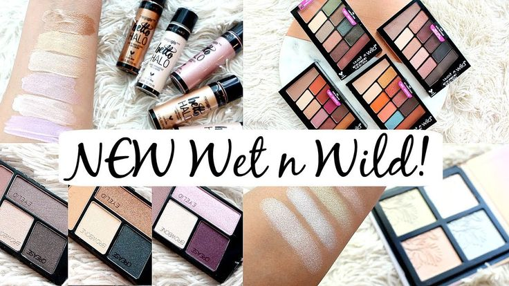 First Look: NEW Wet n Wild 2018, including new 10 pan palettes one that's a Modern Renaissance dupe, what's hot/not   samantha jane on youtube