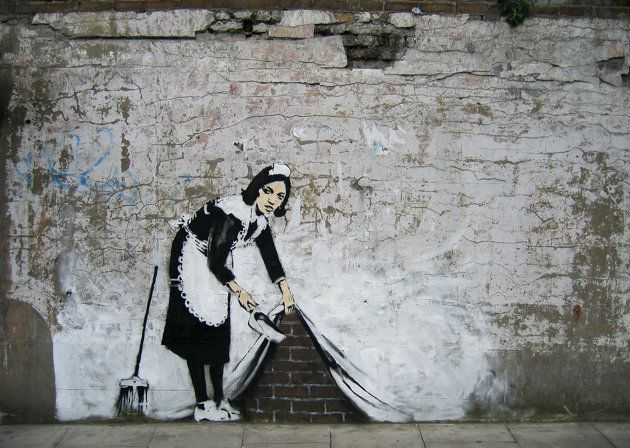 Maid in London - 'Sweeping It Under The Carpet,' in London, England (Jim Dyson/Getty Images)