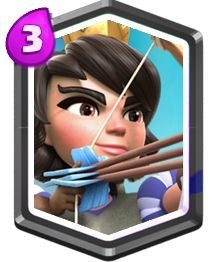 Clash Royale Princesa