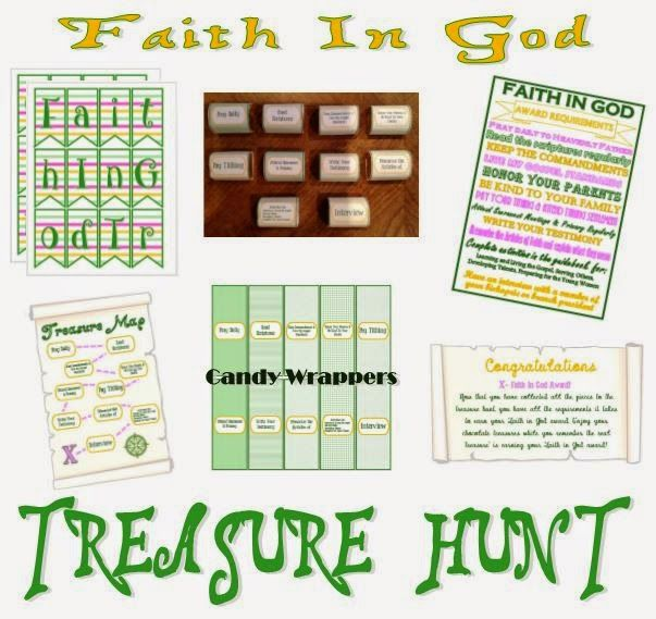 Activity Day Ideas: Activity Days - Faith In God Treasure Hunt
