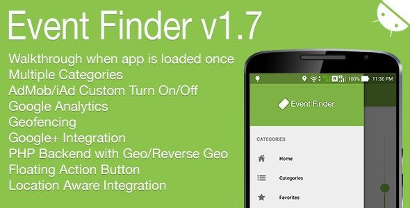 Event Finder Full Android Application V1 7 Application Android