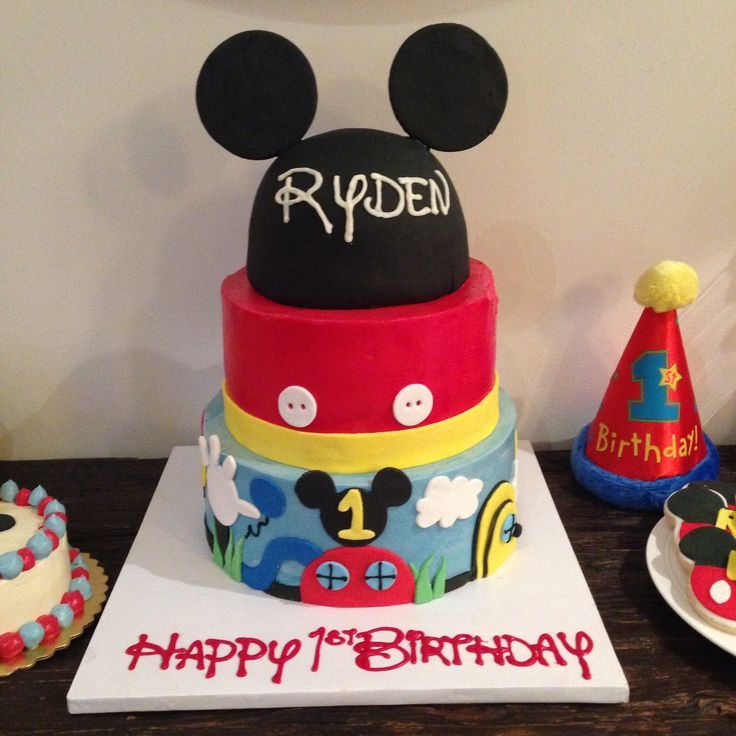 Images Of Mickey Mouse Clubhouse Birthday Cakes : Mickey Mouse Clubhouse Birthday Cake : r y d e n   s 1 s ...