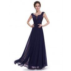 Společenské šaty s rafinovaným dekoltem