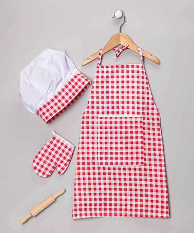 Take a look at this Chef Dress-Up Set by Rosalina on #zulily today!