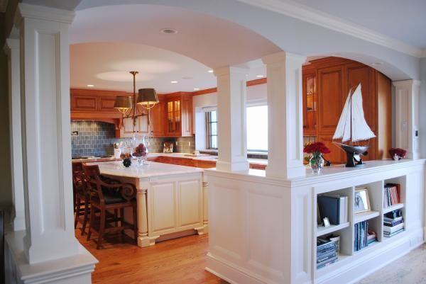 26 best images about divider between kitchen on pinterest - Open window between kitchen living room ...