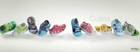http://www.libertyshoes.com/cpages.aspx?mpgid=21&1pgid=21=8  Get cool pair of shoes for your kids from Liberty's Online Kids Shoes store. FootFun, children's fashion footwear's come in rainbow colors.