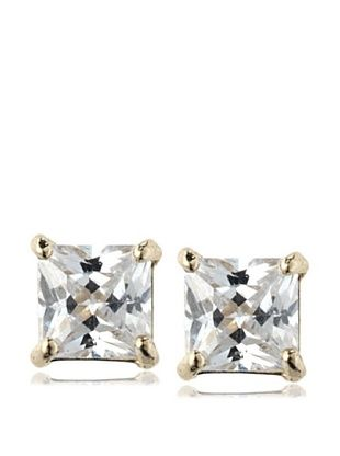 36% OFF Mindy Harris Princess CZ Stud Earrings