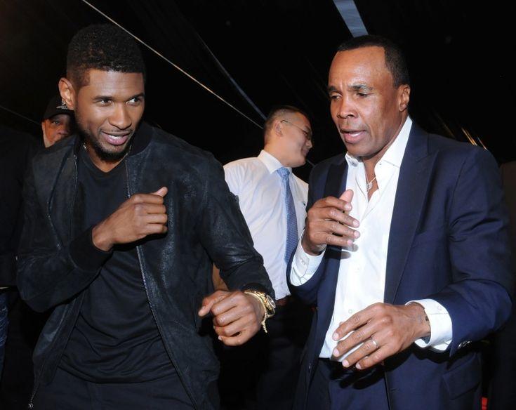 Usher And Sugar Ray Leonard | GRAMMY.comSugar Ray, Ray Leonard