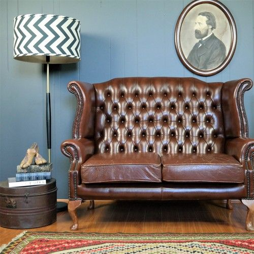 25 Best Ideas About Leather Wingback Chair On Pinterest