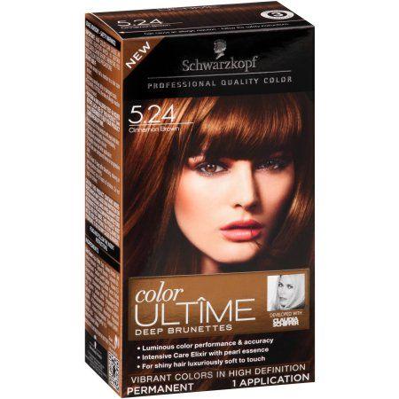 Schwarzkopf Color Ultime Deep Brunettes Hair Coloring Kit
